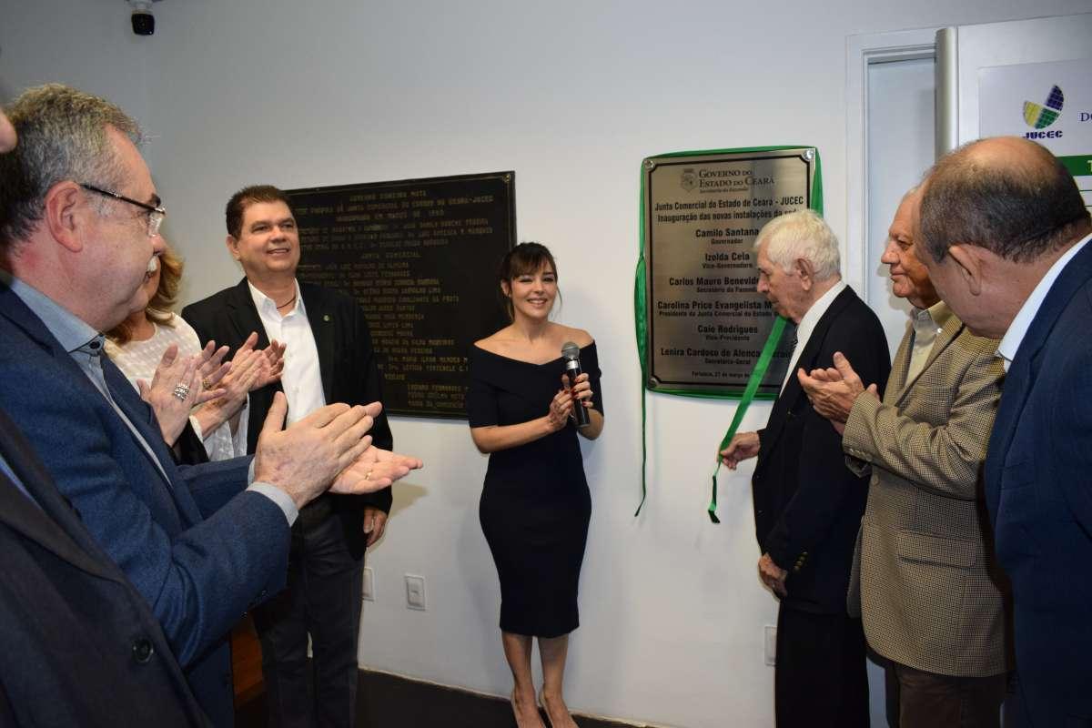 Inauguração das noas instalações da Jucec