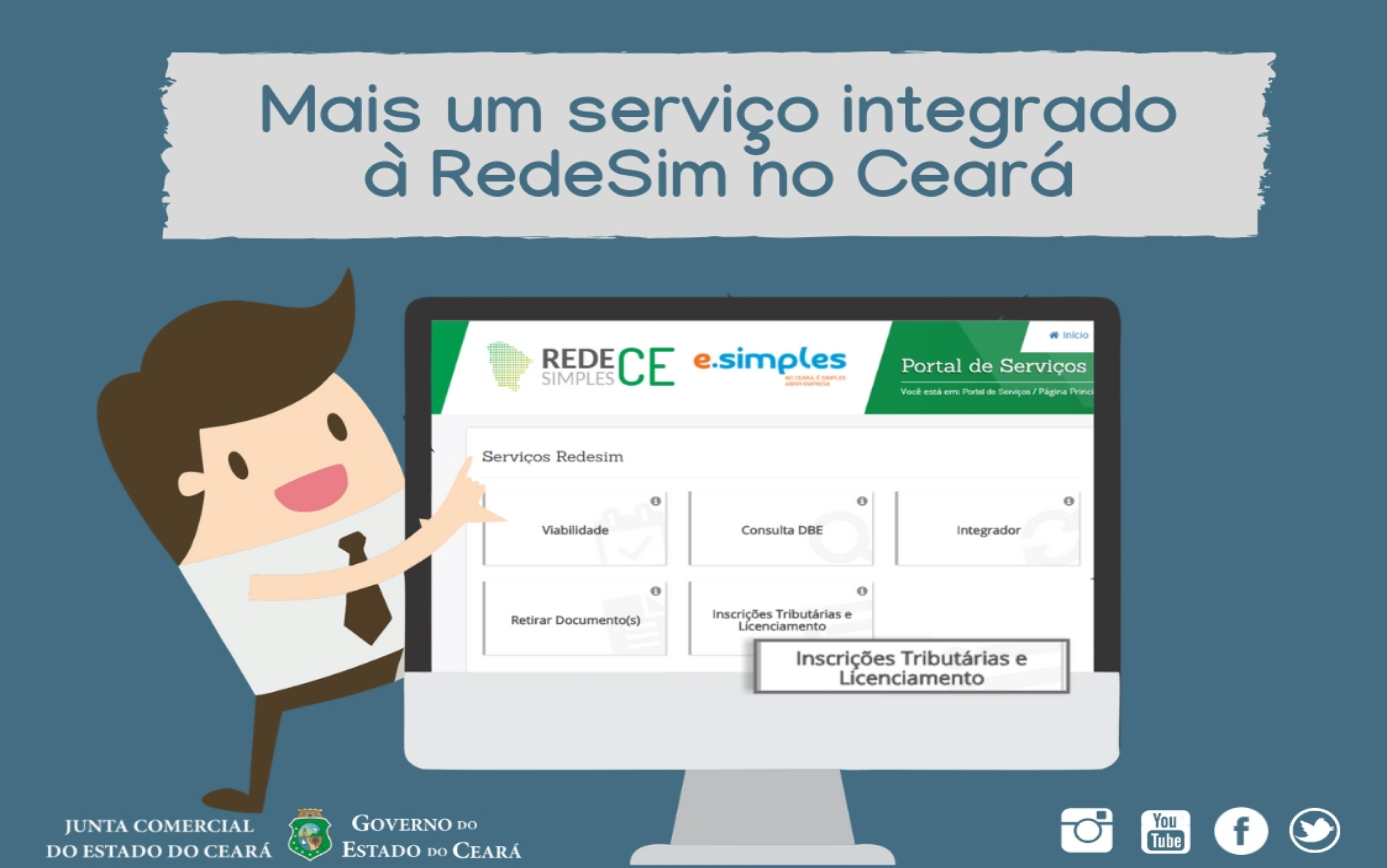 Mais um serviço integrado à RedeSim no Ceará