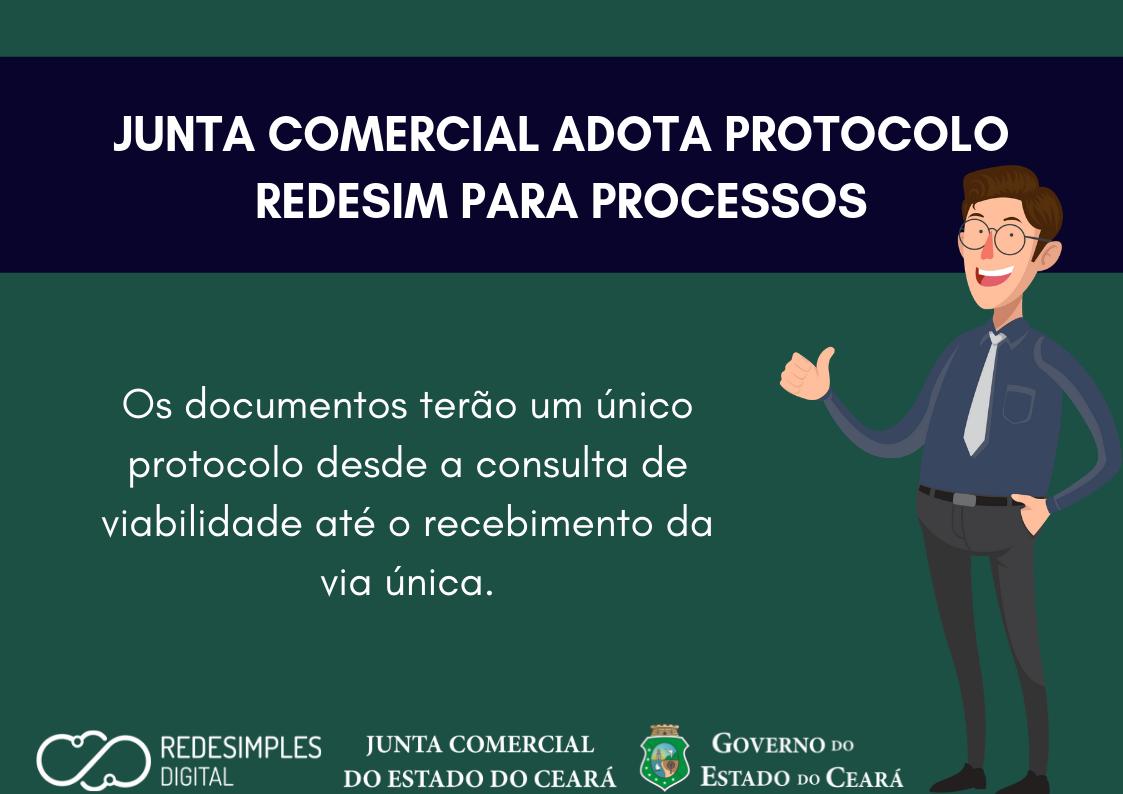 Jucec adota protocolo RedeSim para processos