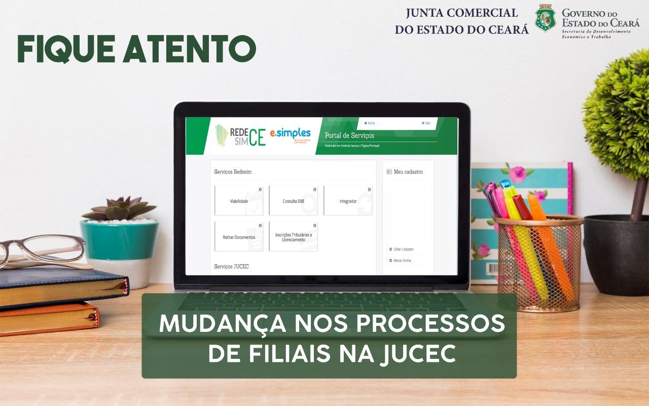 Novas Regras para os processos de filial na Junta Comercial