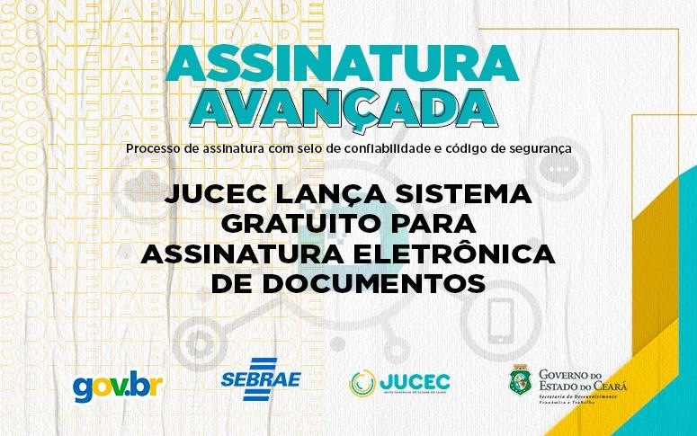 Jucec lança sistema gratuito para assinatura eletrônica de documentos