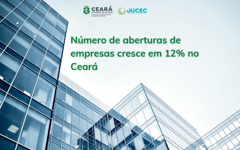 Número de aberturas de empresas cresce em 12% no terceiro trimestre no Ceará